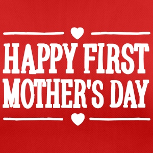 Happy first mother's day T-skjorter - Pustende T-skjorte for kvinner