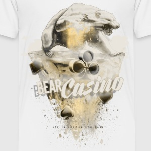 bear casino vintage bär T-Shirts - Teenager Premium T-Shirt