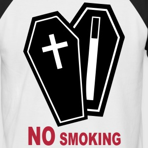 No smoking please Tee shirts - T-shirt baseball manches courtes Homme