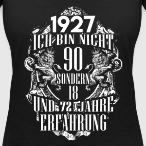 1927-90 years of experience - 2017 - DE T-Shirts - Women's V-Neck T-Shirt