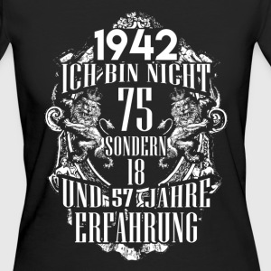 1942-75 years of experience - 2017 - DE T-Shirts - Women's Organic T-shirt