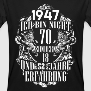 1947-70 years experience - 2017 - DE T-Shirts - Men's Organic T-shirt