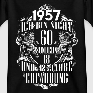 1957-60 years - experience - 2017 - DE Shirts - Kids' T-Shirt