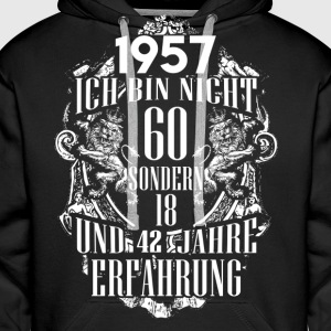1957-60 years - experience - 2017 - DE Hoodies & Sweatshirts - Men's Premium Hoodie