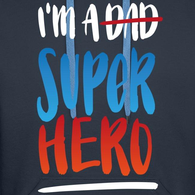Dad-Superhero Hoodie für Männer