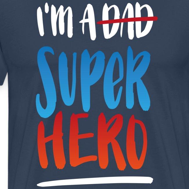 Dad-Superhero T-Shirt für Männer