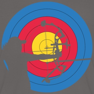 Archer Woman Compound Target Tee shirts - T-shirt contraste Femme