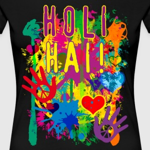 HOLI HAI Happiness Festival Party Luck T-Shirt - Frauen Premium T-Shirt