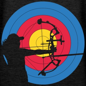 Archer Woman Compound Target Sweat-shirts - Sweat-shirt à capuche Premium pour femmes