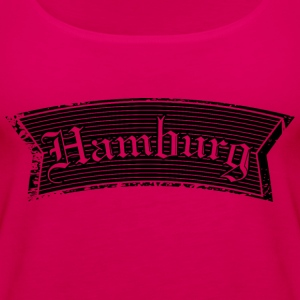 Hamburg Black Tops - Frauen Premium Tank Top
