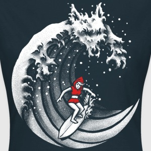 Little Red Surfing Hood Tee shirts - T-shirt Femme