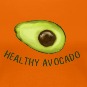 Healthy Avocado T-Shirts - Frauen Premium T-Shirt