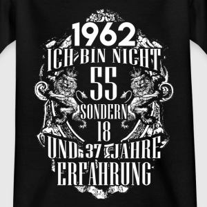 1962-55 years of experience - 2017 - DE Shirts - Teenage T-shirt