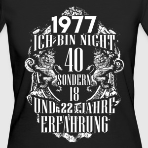 1977-40 years of experience - 2017 - DE T-Shirts - Women's Organic T-shirt
