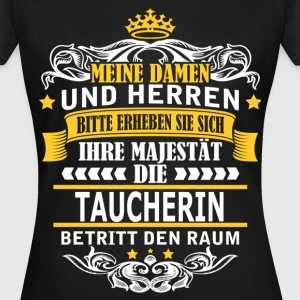 TAUCHERIN T-Shirts - Frauen T-Shirt