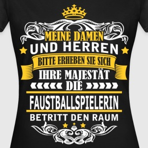FAUSTBALLSPIELERIN T-Shirts - Frauen T-Shirt
