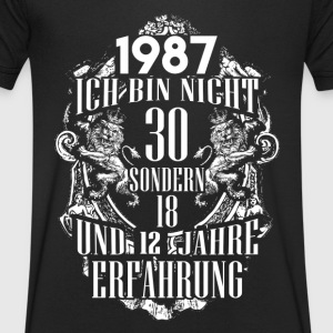1987-30 years experience - 2017 - DE T-Shirts - Men's V-Neck T-Shirt