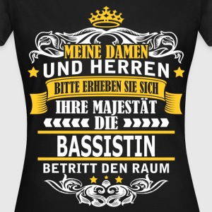BASSISTIN T-Shirts - Frauen T-Shirt