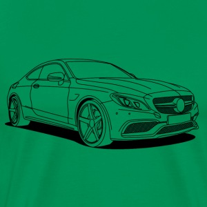 cool car outlines Camisetas - Camiseta premium hombre