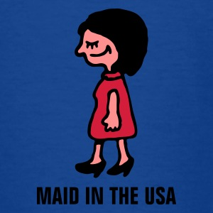 maid_in_usa_b_3c Shirts - Teenage T-shirt