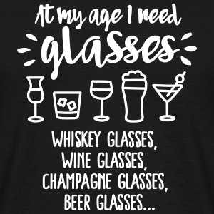 At my age I need glasses... Tee shirts - T-shirt Homme