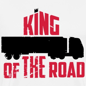 king of the road T-shirts - Herre premium T-shirt