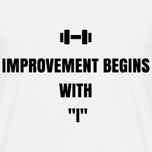 improvement T-Shirts - Männer T-Shirt