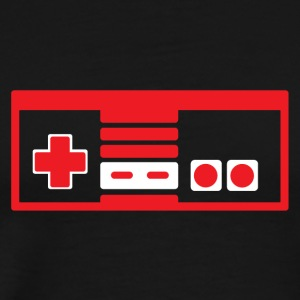 RETRO NES RED - Men's Premium T-Shirt