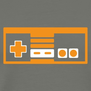 RETRO NES ORANGE - Men's Premium T-Shirt