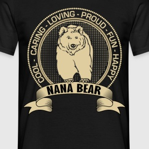 Fiercely Protective Nana Bear T-Shirts - Men's T-Shirt