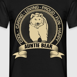 Fiercely Protective Auntie Bear T-Shirts - Men's T-Shirt