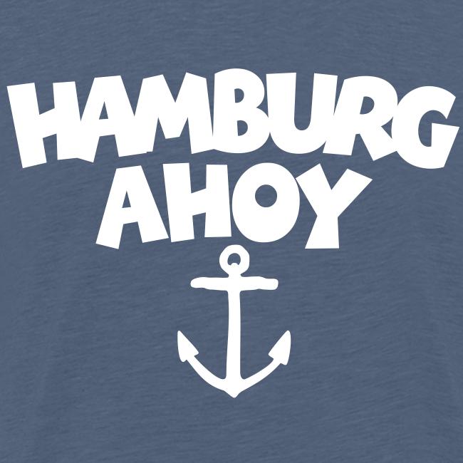 Hamburg Ahoy (Anker) S-5XL T-Shirt