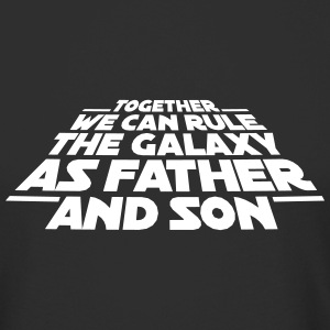 Together we can rule the galaxy as father and son T-skjorter - Urban lang T-skjorte for menn
