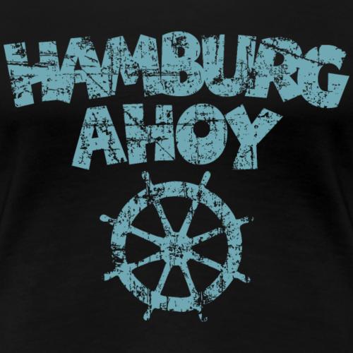 Hamburg Ahoy Steuer Vintage Hell