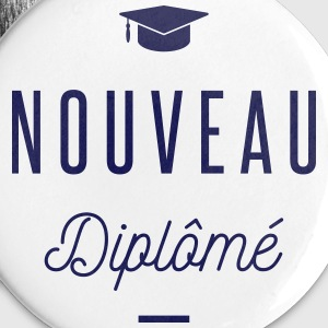 nouveau diplomé Badges - Badge grand 56 mm