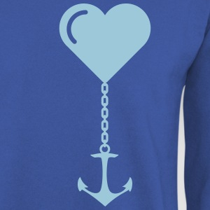 Anchor heart love JGA port marriage home Hoodies & Sweatshirts - Men's Sweatshirt