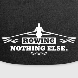 rowing nothing else Rudern Skull Boot Skiff Caps & Mützen - Jersey-Beanie