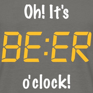 Oh! It's BEER o'clock Tee shirts - T-shirt Homme