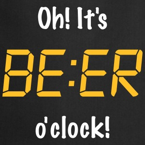 Oh! It's BEER o'clock Tabliers - Tablier de cuisine