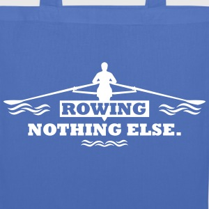 rowing nothing else Rudern Skull Boot Skiff Bags & Backpacks - Tote Bag