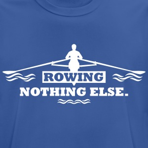 rowing nothing else Rudern Skull Boot Skiff T-Shirts - Männer T-Shirt atmungsaktiv