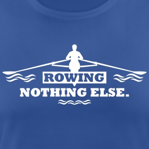 rowing nothing else Rudern Skull Boot Skiff T-shirts - Dame T-shirt svedtransporterende