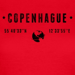 Copenhague T-shirts - Vrouwen T-shirt
