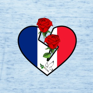 Love and Peace for France - Women's Tank Top by Bella