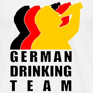 German Drinking Team T-Shirts - Männer Premium T-Shirt