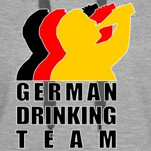 German Drinking Team Pullover & Hoodies - Frauen Premium Hoodie