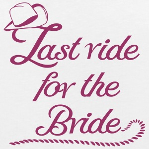 last_ride_for_the_bride T-Shirts - Frauen Oversize T-Shirt