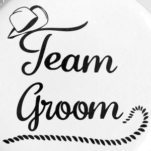 team_groom_cowboy Buttons & Anstecker - Buttons mittel 32 mm