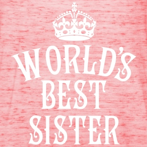 World's best Sister Crown Family Frauen Tank Top - Frauen Tank Top von Bella