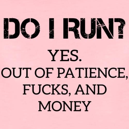 Satire: Do I Run?